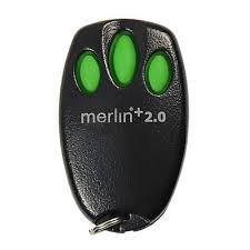 Merlin +2.0 garage door remote